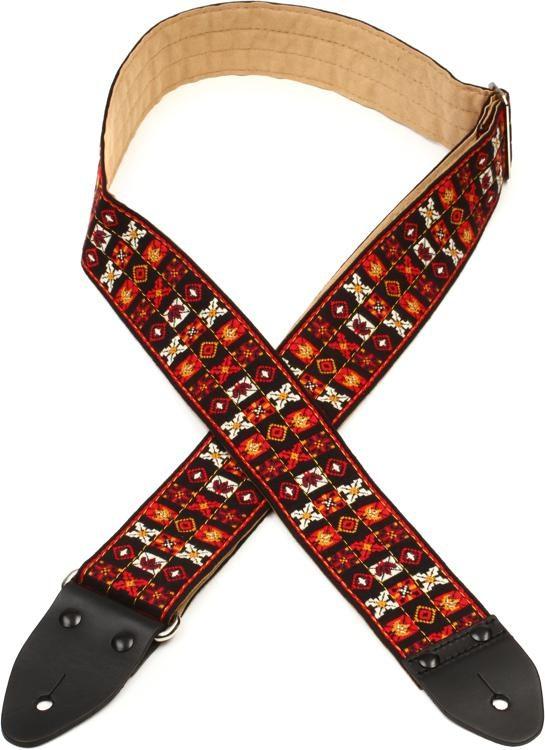 c457ce66687 Dunlop Jimi Hendrix Guitar Strap - Woodstock
