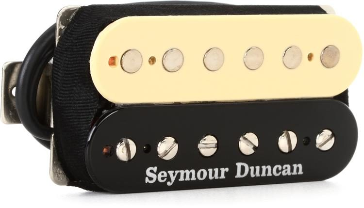 SH-4 JB Model Humbucker Pickup - Reverse Zebra