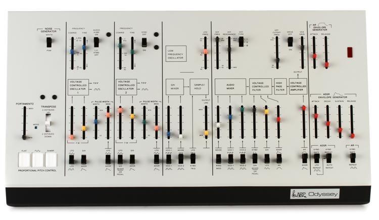 Odyssey Synthesizer Module - White