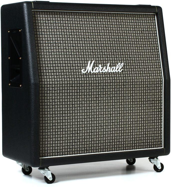 "1960ax 100-watt 4x12"" angled extension cabinet with greenbacks"