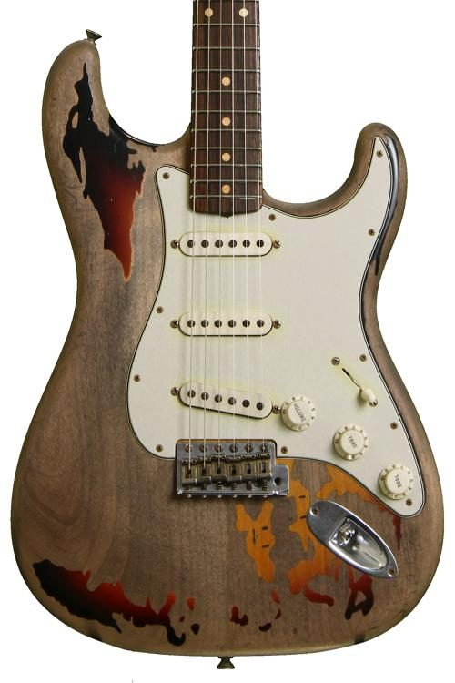 fender custom shop rory gallagher tribute stratocaster sweetwater