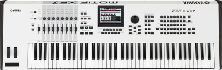 MOTIF XF7 - Special Edition White