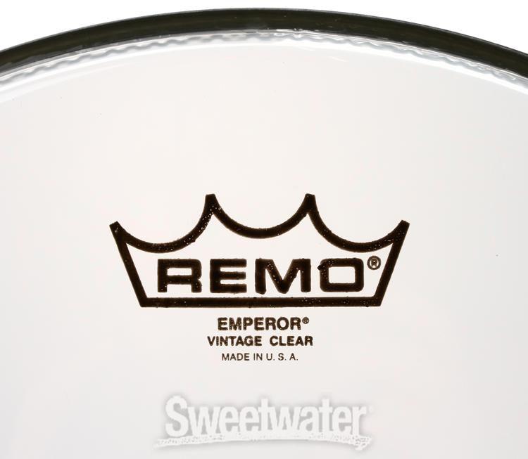 """Remo 13/"""" Emperor Clear B-Ware"""