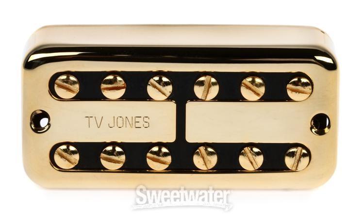 Tv Jones Pickups >> Tv Jones Tv Classic Pickup Bridge Gold Sweetwater