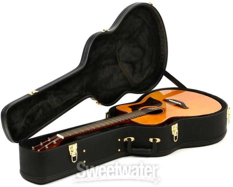 Tuner and Lesson Book Yamaha FS800 Acoustic Guitar with Hardshell Case