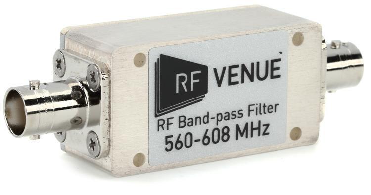 BPF560T608 Band-pass Filter, 560 - 608 MHz