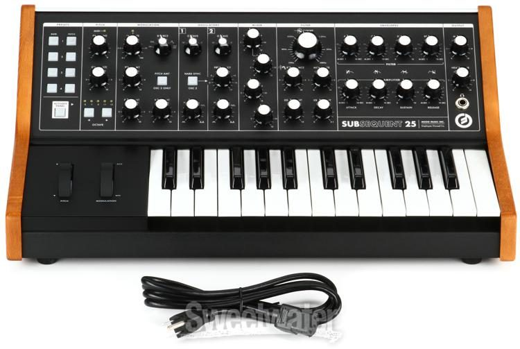 Moog Subsequent 25 Analog Synthesizer Sweetwater