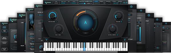antares auto tune vocal studio plug in bundle sweetwater