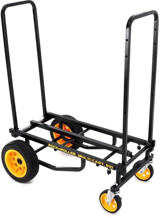 Rock N Roller R10RT 8-in-1 Max Multi-Cart With Shelf R10RT SHELF Standard