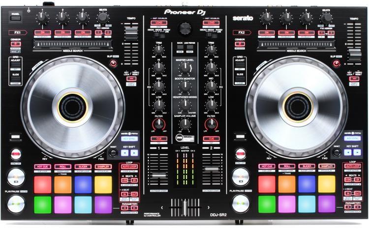 DDJ-SR2 4-deck Serato DJ Pro Controller