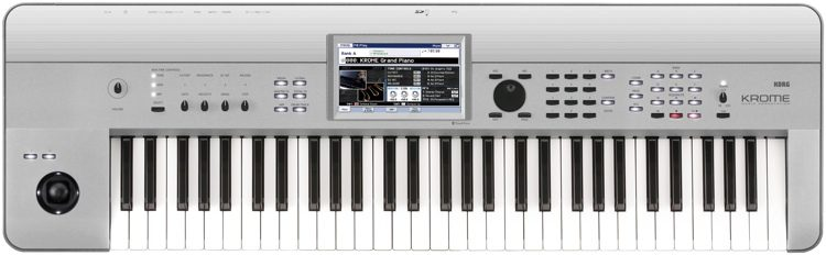 Krome 61-key Synthesizer Workstation - Limited Edition Platinum