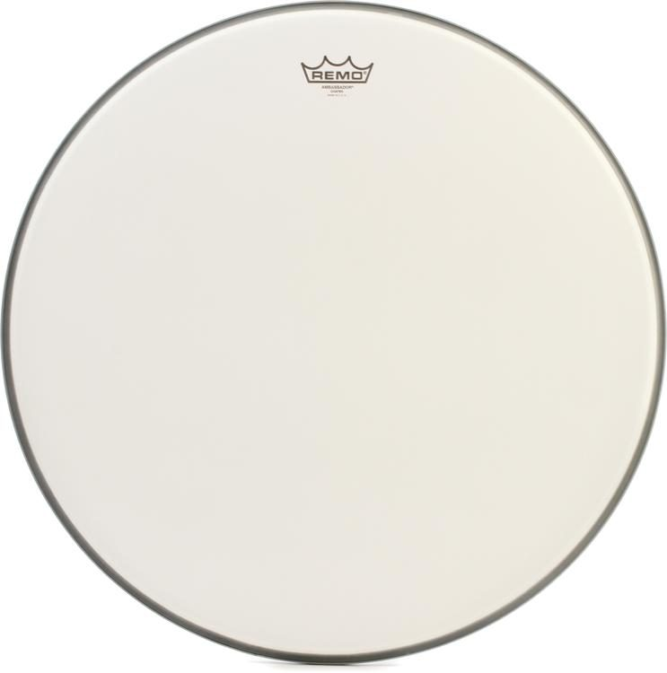 BR-1122-00 Remo Ambassador Coated Bass Drum Head 22/""
