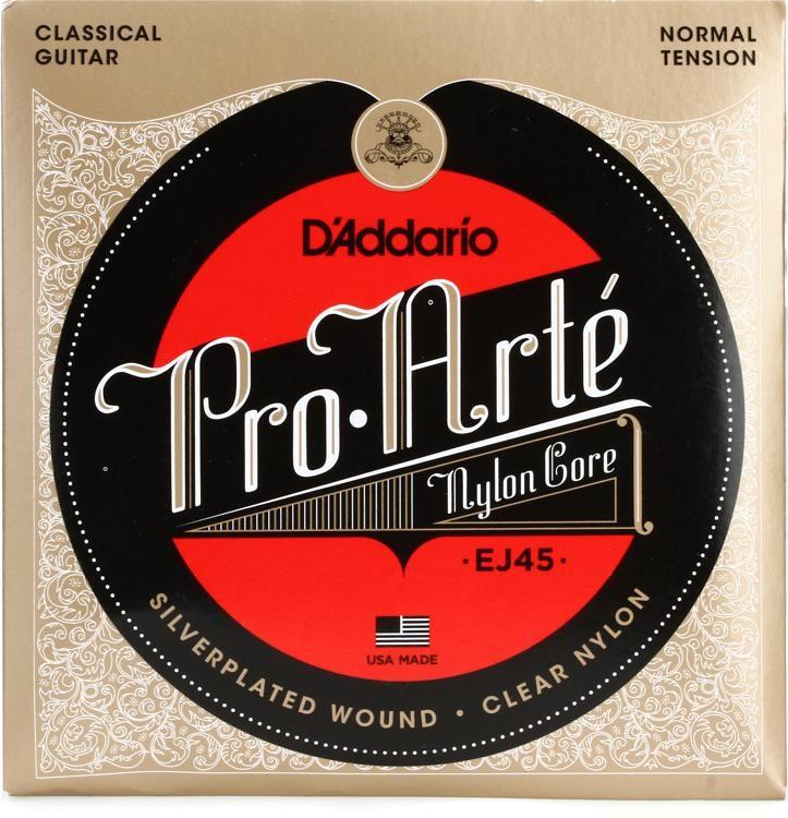 D/'Addario EJ27N Classic Nylon Classical Guitar Strings Normal Tension 28-43