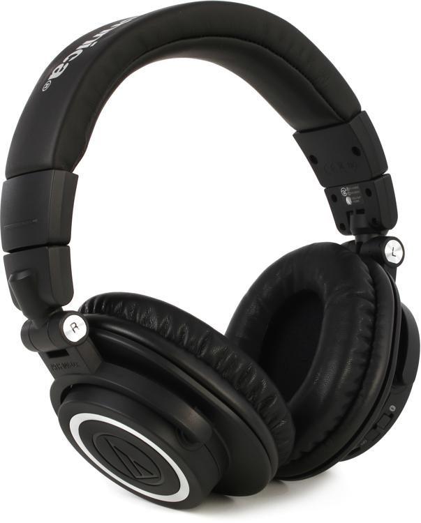 992a637c9b6 Audio-Technica ATH-M50xBT Closed-back Studio Monitoring Headphones w/  Bluetooth image