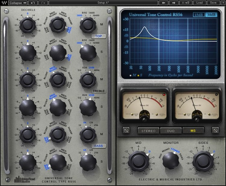 Abbey Road Studios RS56 Passive EQ Plug-in