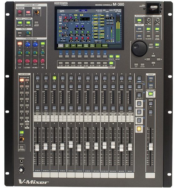 Expanded M-380 V-Mixing System - Expanded System