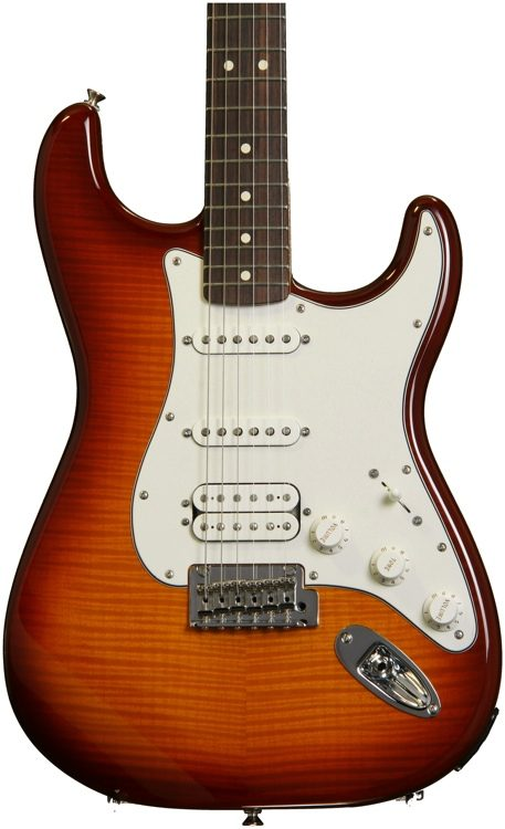 Fender deluxe strat plus hss ios tobacco sunburst sweetwater fender deluxe strat plus hss ios tobacco sunburst image 1 freerunsca Choice Image