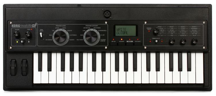 korg microkorg xl synthesizer with vocoder sweetwater rh sweetwater com korg microkorg xl plus review korg microkorg xl plus manual