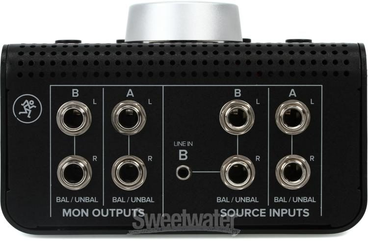MACKIE BIG KNOB PASSIVE Compact 2X2 Studio Monitor Controller Interface USB TRS