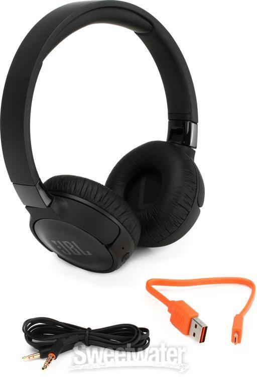 JBL Lifestyle Tune 600BTNC On Ear Bluetooth Noise Canceling Headphones Black