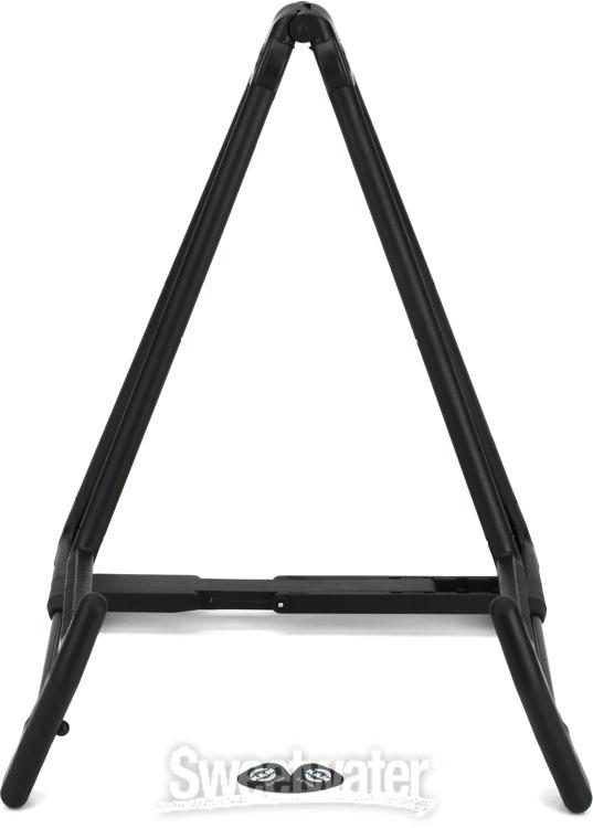 Black K/&M 17580.014.55 Stands 17580B Heli 2 Acoustic Guitar Stand