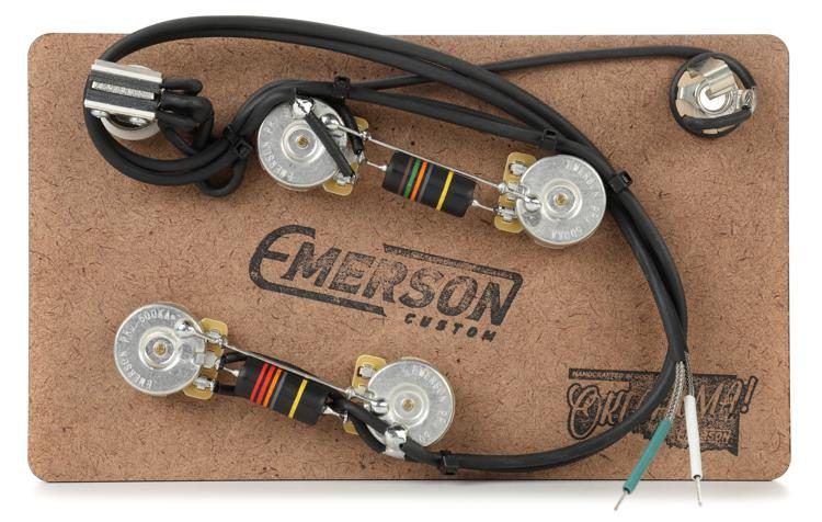 emerson custom prewired kit for gibson es 335 sweetwater emerson custom prewired kit for gibson es 335 image 1