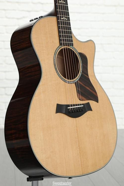 Taylor 2018 600 Series 614ce V-class Grand Auditorium Acoustic Electric Guitar Acoustic Electric Guitars