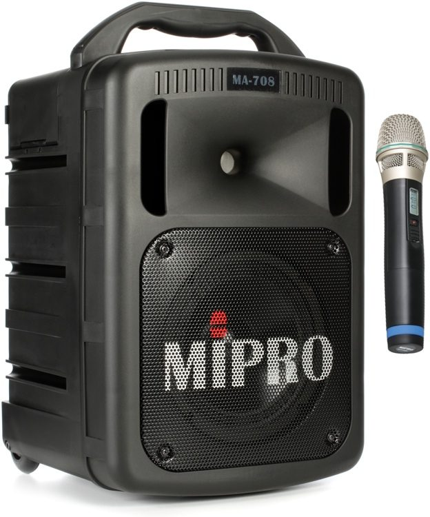 MIPRO MA-708 Portable PA System with CD Player 03bfc1baa43e7