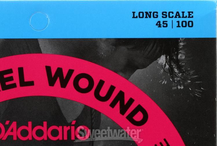 D/'Addario EXL170 Bass Guitar Long Scale 45-100