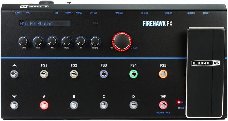 Firehawk FX Guitar Multi-effects Floor Processor