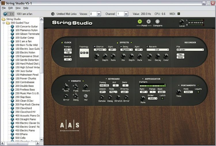 String Studio VS-1 String Modeling Synthesizer