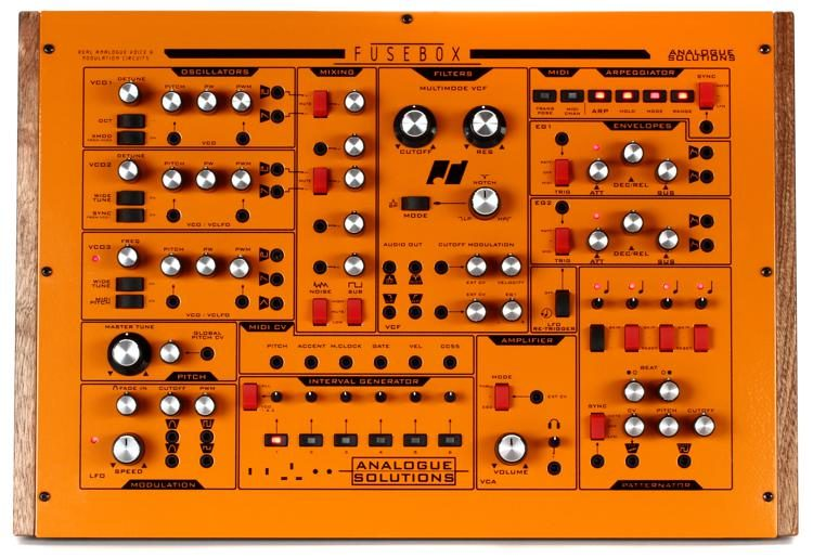 analogue solutions fusebox synthesizer image 1