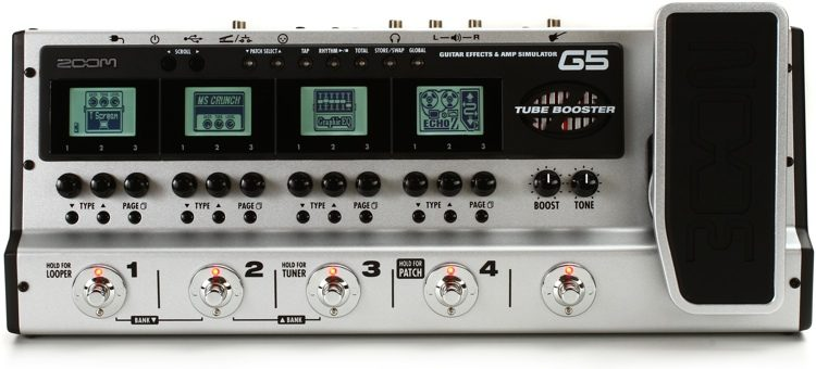 ZOOM G5 GUITAR PEDAL DRIVER DOWNLOAD