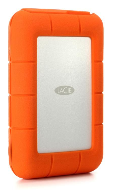 Exceptional LaCie Rugged Thunderbolt USB C   4TB Portable Hard Drive Image 1