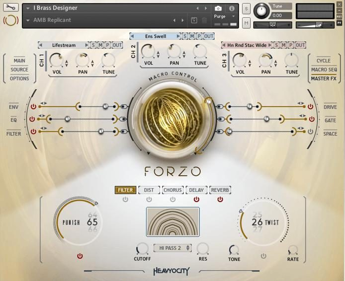Forzo Modern Brass Plugin