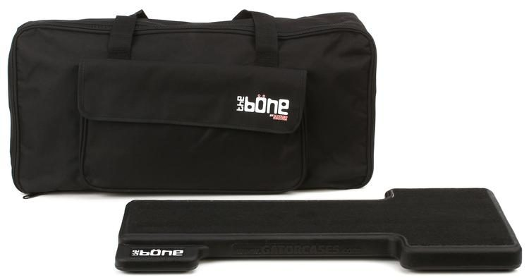 Gator G-Bone - 5-pedal Molded Pedal Board w/Carry Bag | Sweetwater