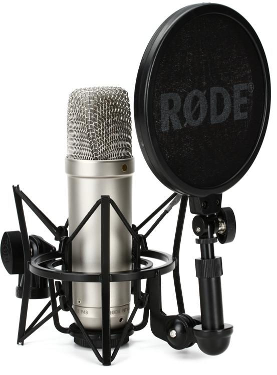 Rode NT1-A Large-diaphragm Condenser Microphone | Sweetwater