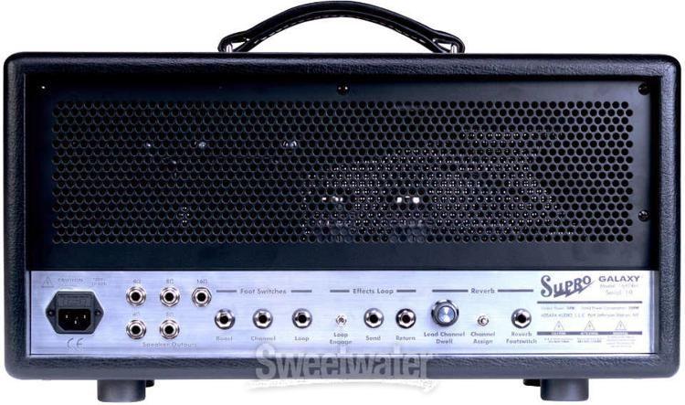 Supro Galaxy 2-channel 50-watt Tube Head | Sweetwater