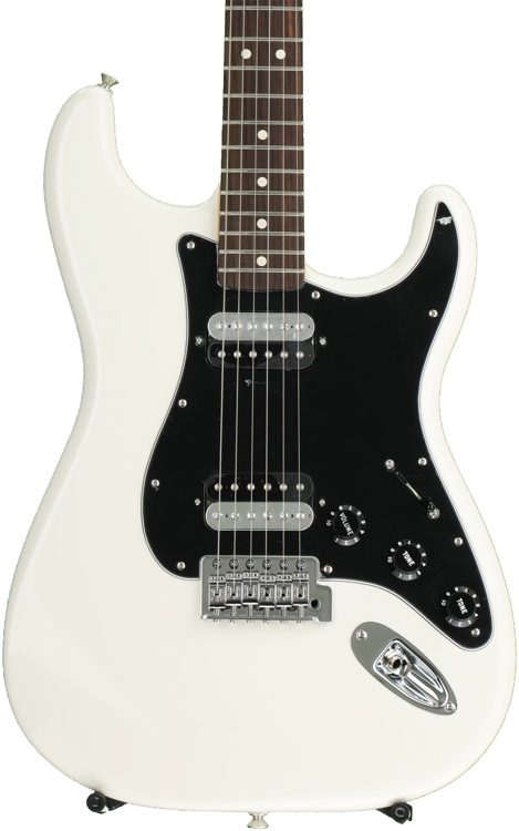 Standard Stratocaster HH - Olympic White with Rosewood Fingerboard