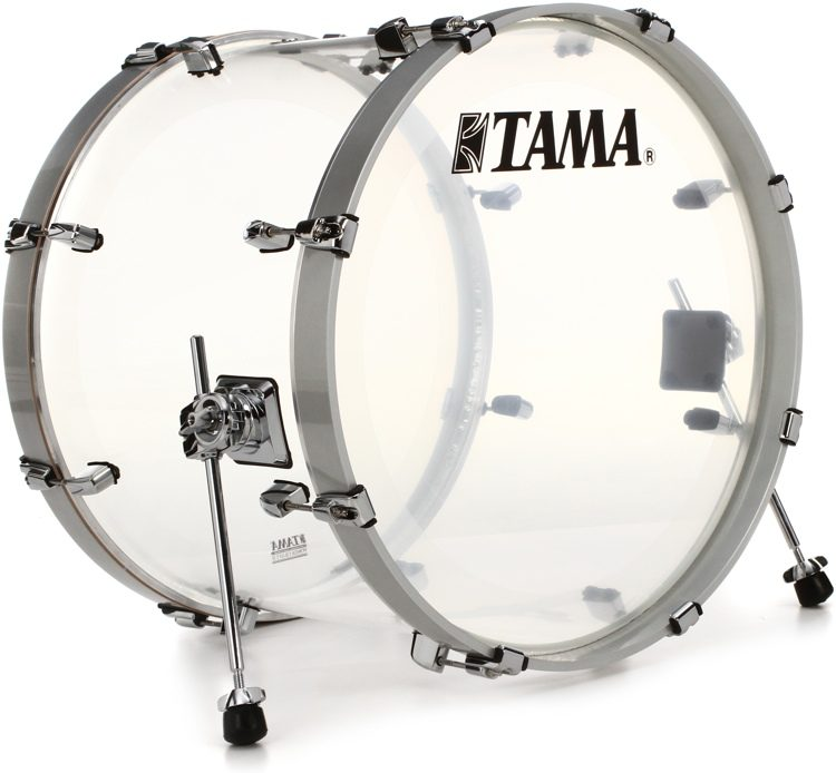 e796e0f2efa5 Tama Silverstar Mirage Bass Drum - 16