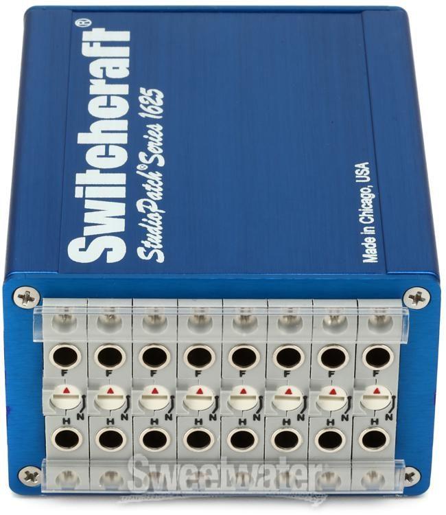 Switchcraft 1625TT 8 Way Bantam//TT Studio Patchbay Module *MINT*