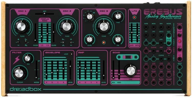 Dreadbox Erebus V3 Special Edition + Hypnosis | Sweetwater