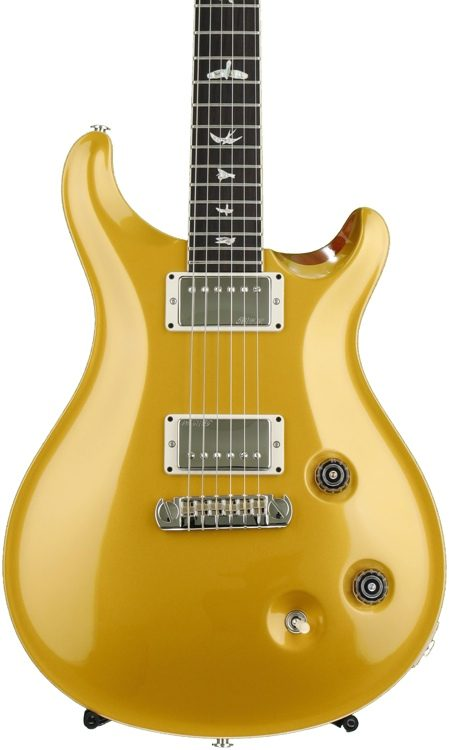 prs mccarty figured top gold top with pattern regular neck