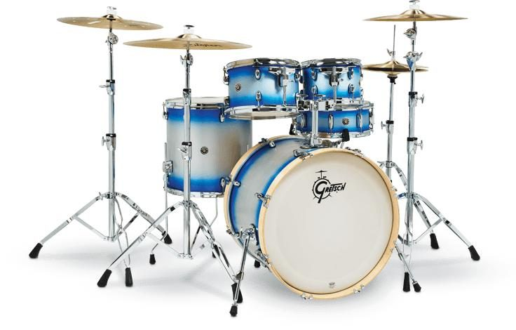 Catalina Birch Special Edition 5-piece Shell Pack - Blue Silver Duco - 22