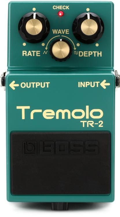 boss tr 2 tremolo pedal sweetwater rh sweetwater com Triumph TR2 Engine Tech-Rod TR2 Home Gym