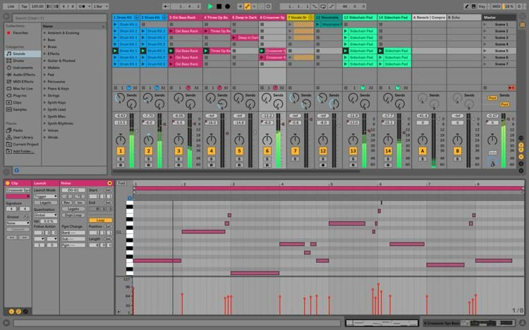 best instruments for ableton