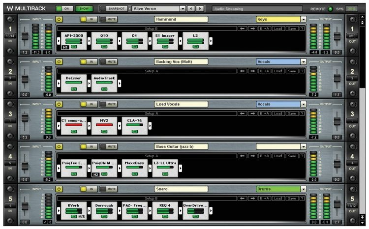 MultiRack Plug-in Host