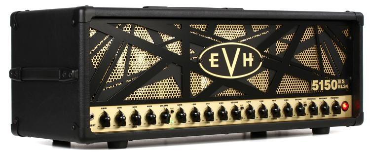 5150 IIIS EL34 100-watt Tube Head with EL34 Tubes