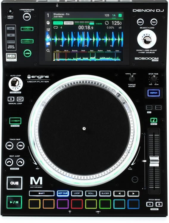 SC5000M Prime Professional Digital DJ Media Player with Motorized Platter