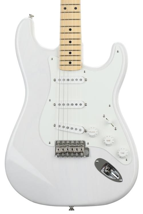 Fender Standard Stratocaster Electric Guitar Maple Fb Artic White